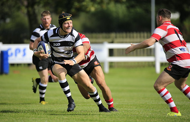 Ross Young scorer of Park's opening try