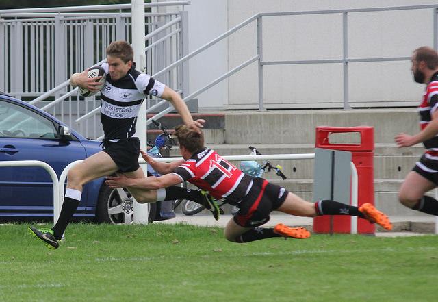 Alex Tilley scores for Park