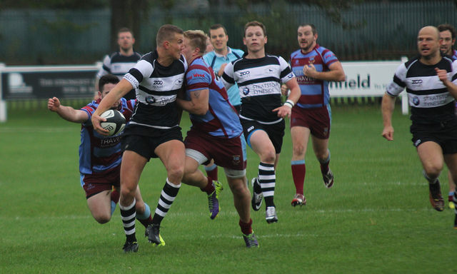 Ali Blair puts Shawsy in for a try